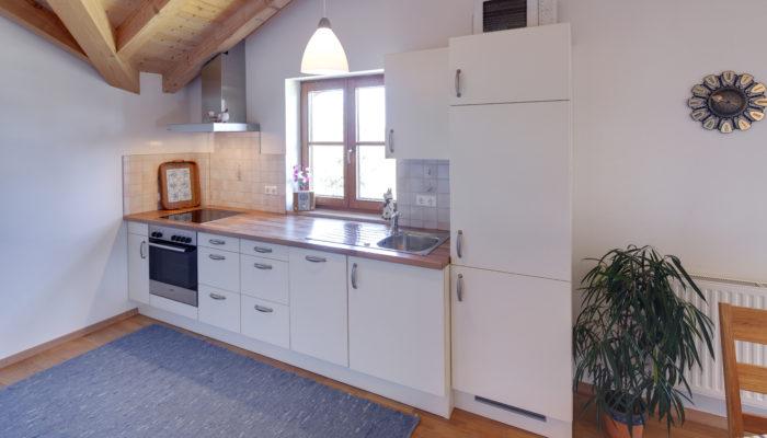Ferienwohnung Wörle's Bergblick - Küche