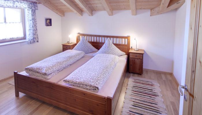 Ferienwohnung Wörle's Bergblick - Schlafzimmer
